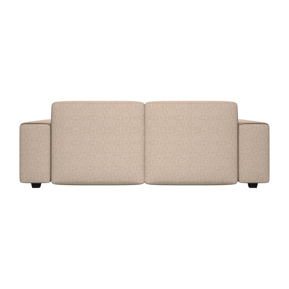 3 seater sofa in Ancio fabric, nature n°3