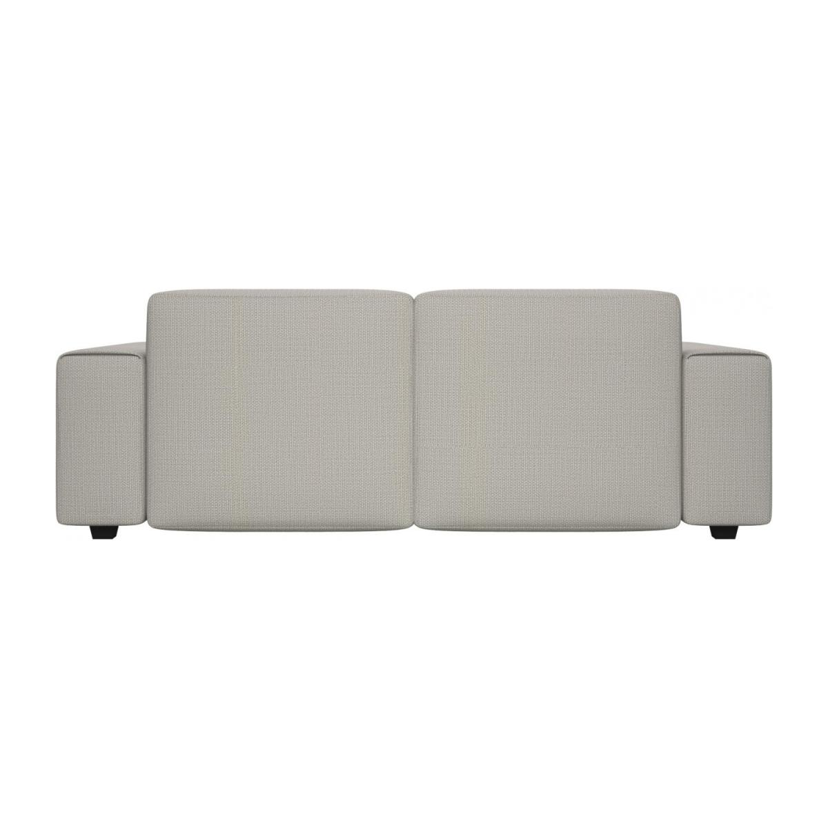 3 seater sofa in Fasoli fabric, snow white n°3