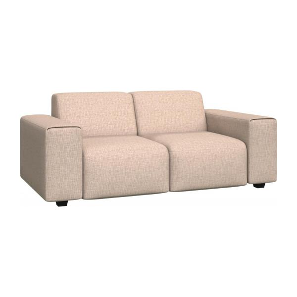 posada 2 sitzer sofa aus stoff beige meliert habitat. Black Bedroom Furniture Sets. Home Design Ideas