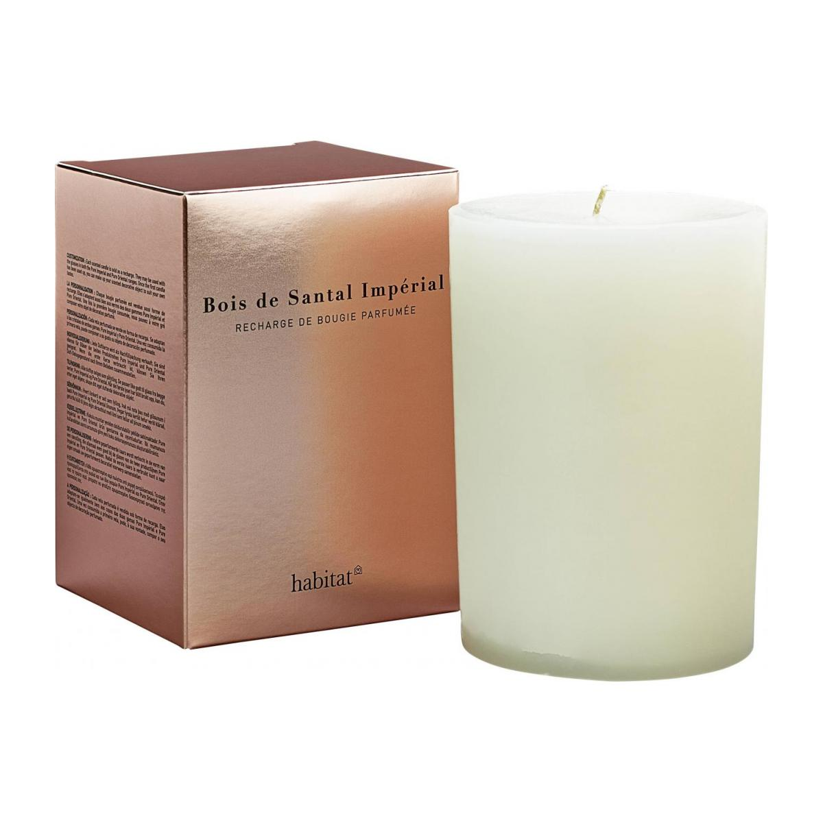 Refill for large Sandalwood scented candle, 600 g n°1