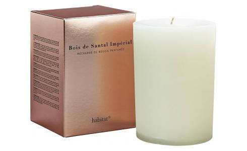 Refill for large Sandalwood scented candle, 600 g