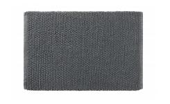 Bath mat made of cotton 50x80cm, grey