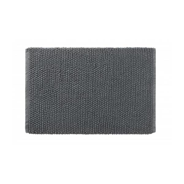 bobble tapis de bain en coton 50x80cm gris habitat. Black Bedroom Furniture Sets. Home Design Ideas