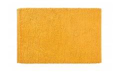 Bath mat made of cotton 50x80cm, yellow