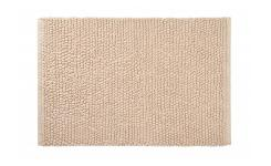 Bath mat made of cotton 50x80cm, brownish-grey