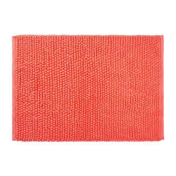 bobble tapis de bain en coton 50x80cm corail habitat. Black Bedroom Furniture Sets. Home Design Ideas