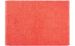 Bath mat made of cotton 50x80cm, coral