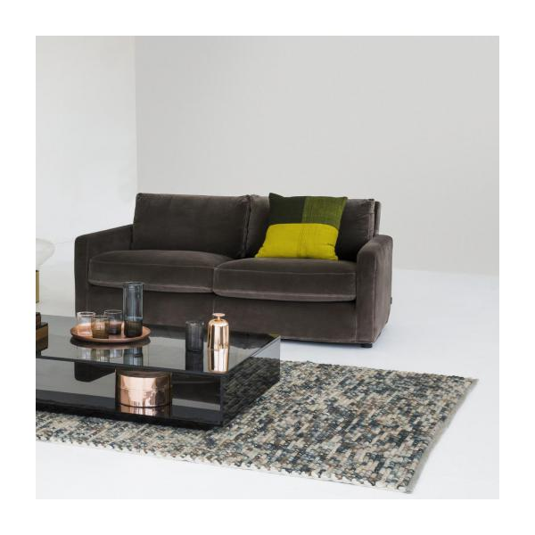 chester 3 sitzer sofa mit samtbezug habitat. Black Bedroom Furniture Sets. Home Design Ideas
