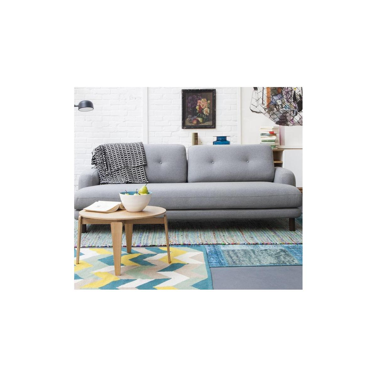 3-seater sofa in wool felt n°11
