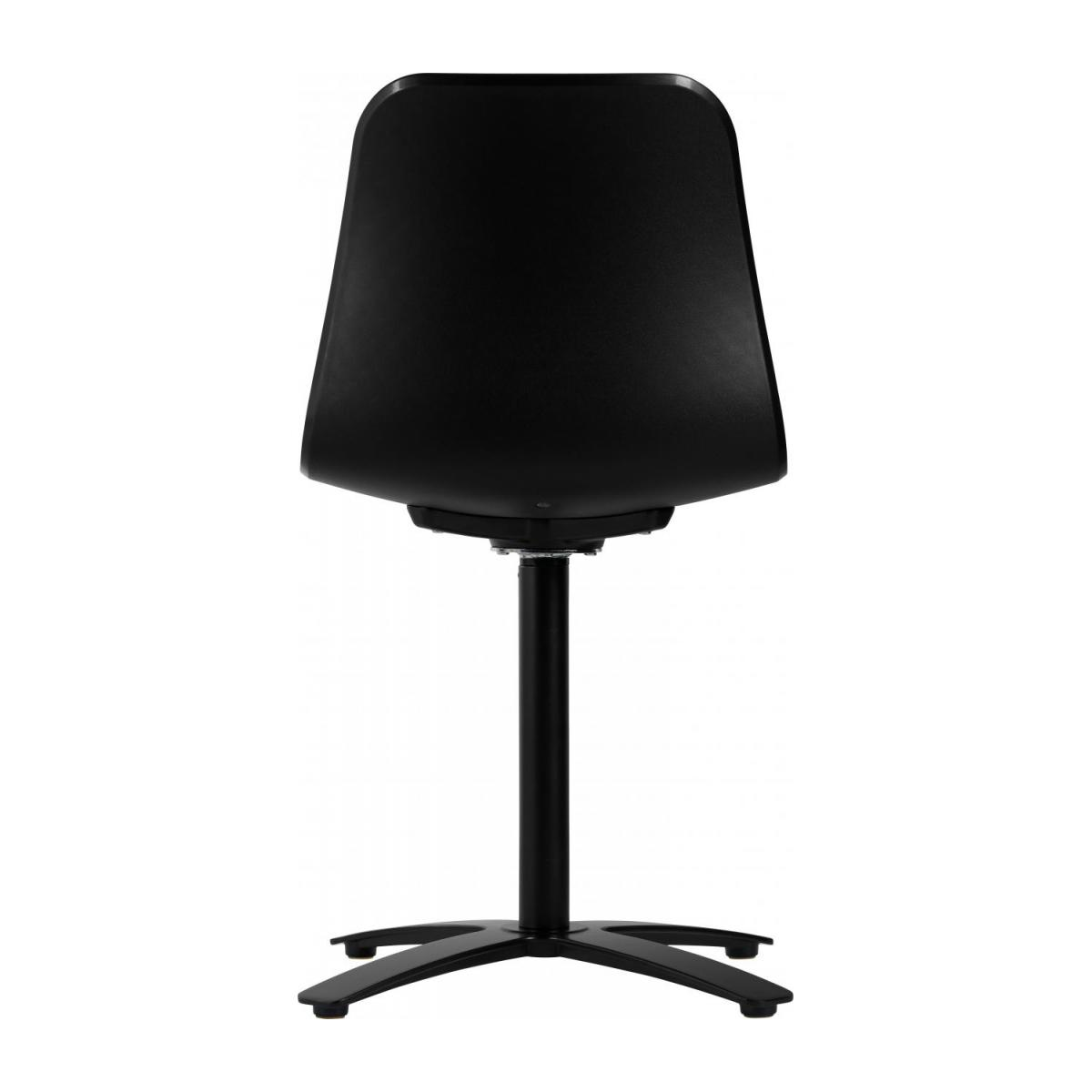 Black office chair in polypropylene n°4