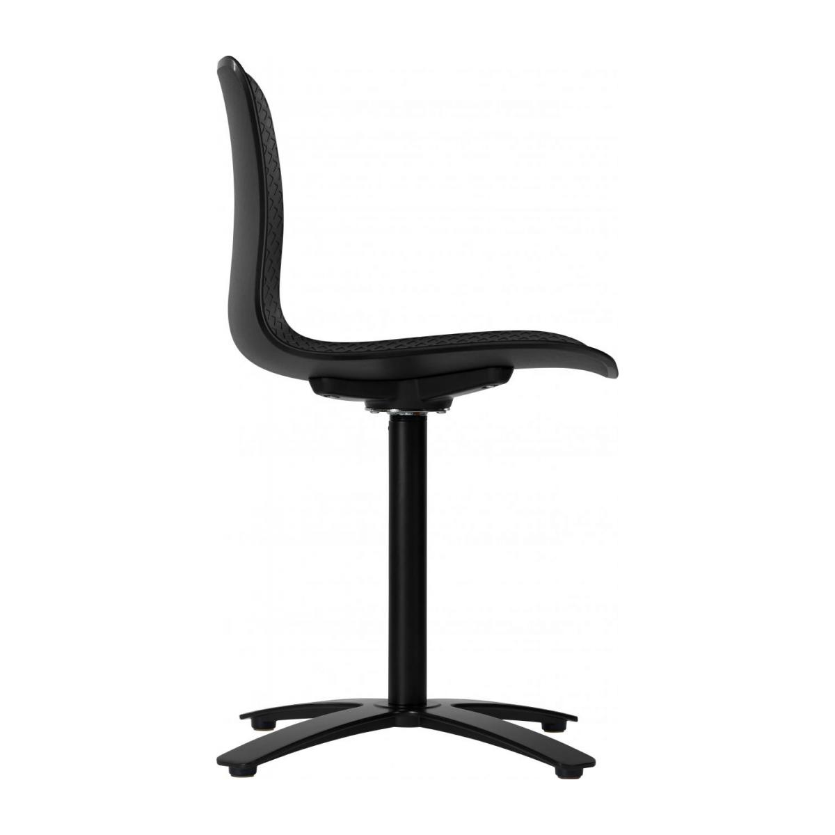 Black office chair in polypropylene n°5