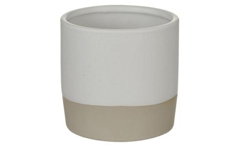 Stoneware Planter White S