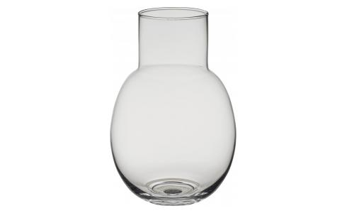 Vase aus Glas, transparent