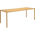 Tratto dining room tables natural wood habitat for Table salle a manger largeur 120