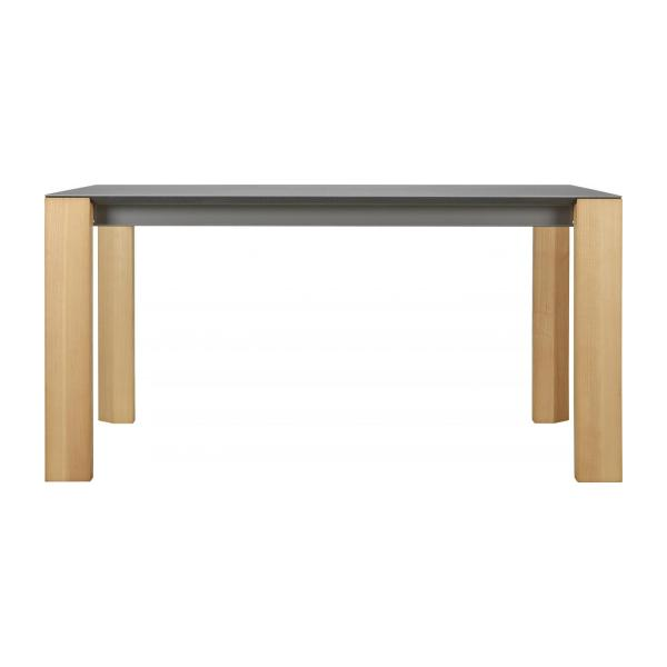 Giulia table de salle manger en c ramique 150 cm for Table salle manger habitat