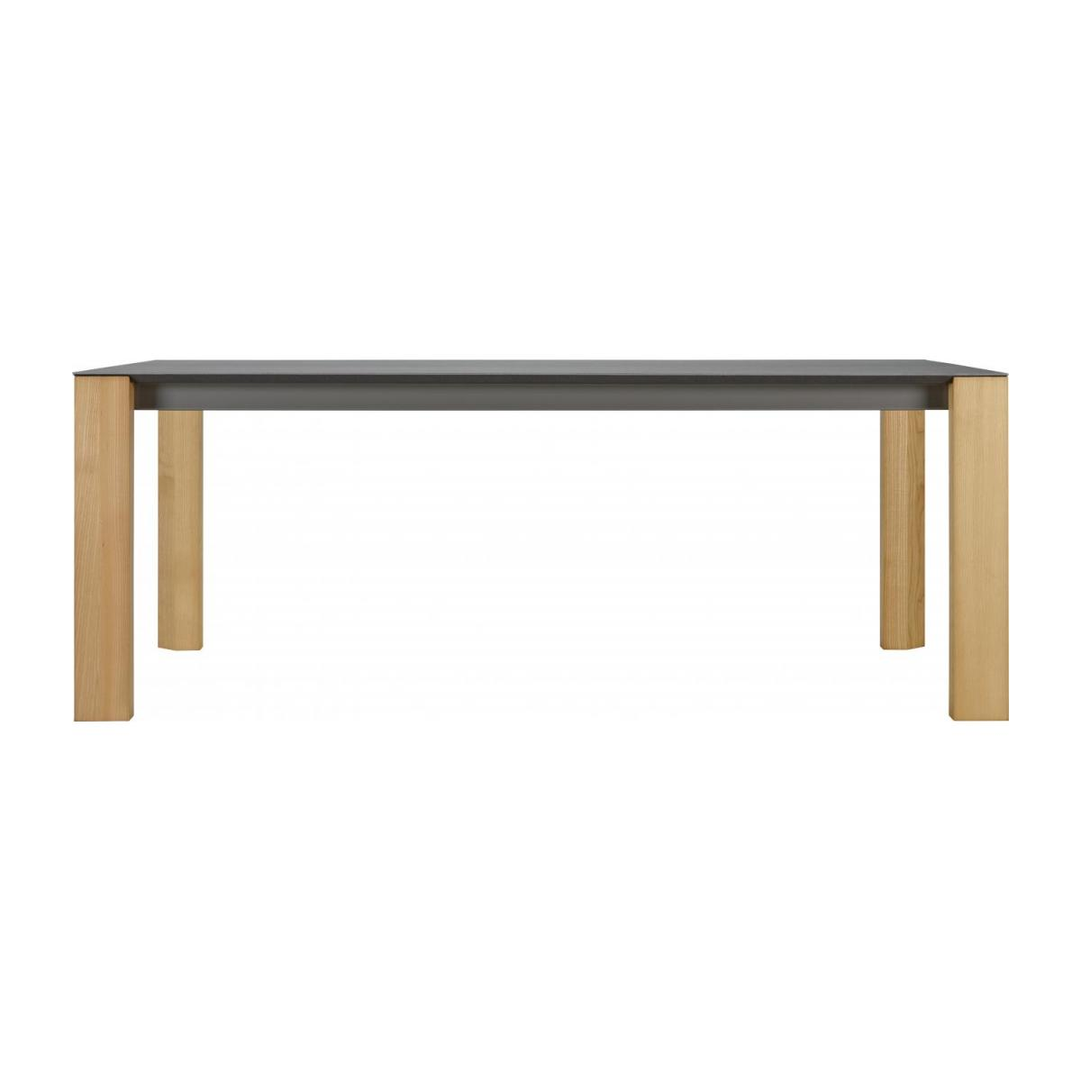 Giulia White Ceramic Dining Table 200 Cm Habitat