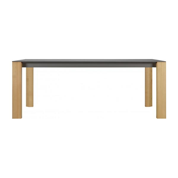 Giulia table de salle manger en c ramique 200 cm - Table a manger habitat ...