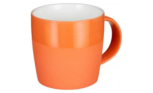 Porcelain Mug Orange