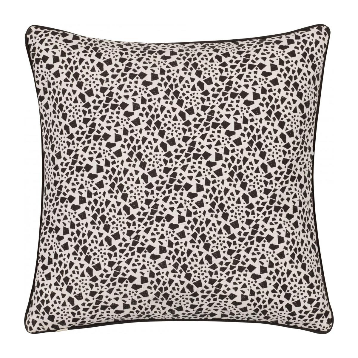 Giraffe Patterned Printed Cotton Cushion 40x40cm n°3