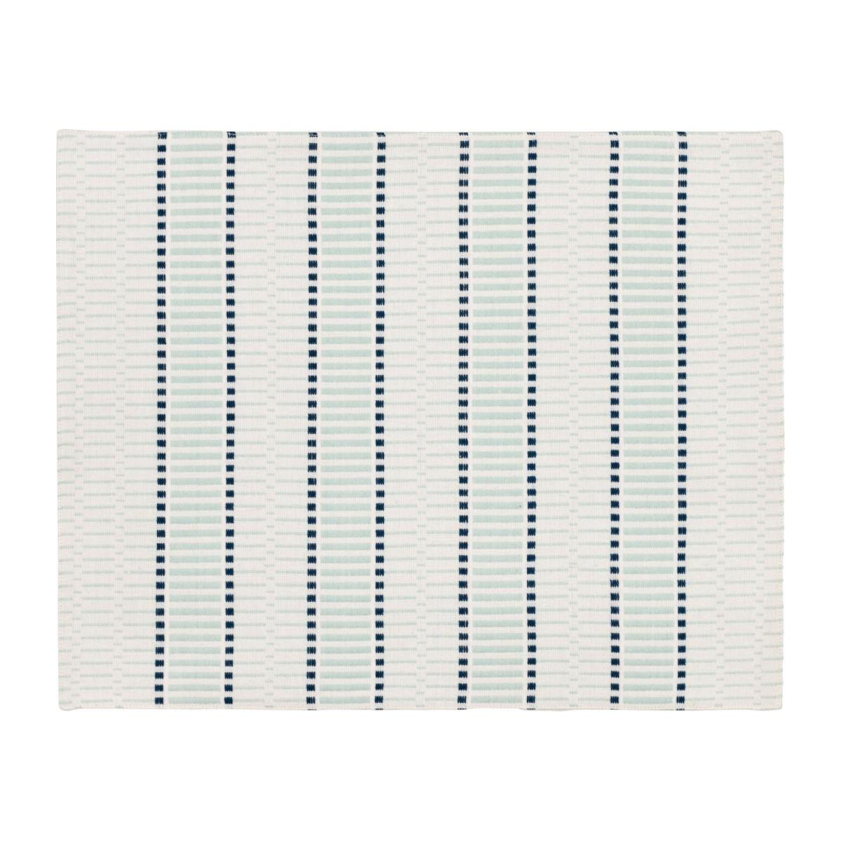 Set of 2 Celadon Patterned Placemats n°1