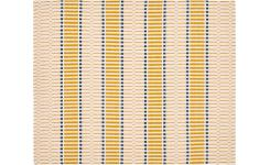 Set of 2 Mustard Patterned Placemats
