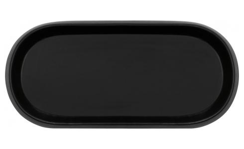 Oval Tray Black