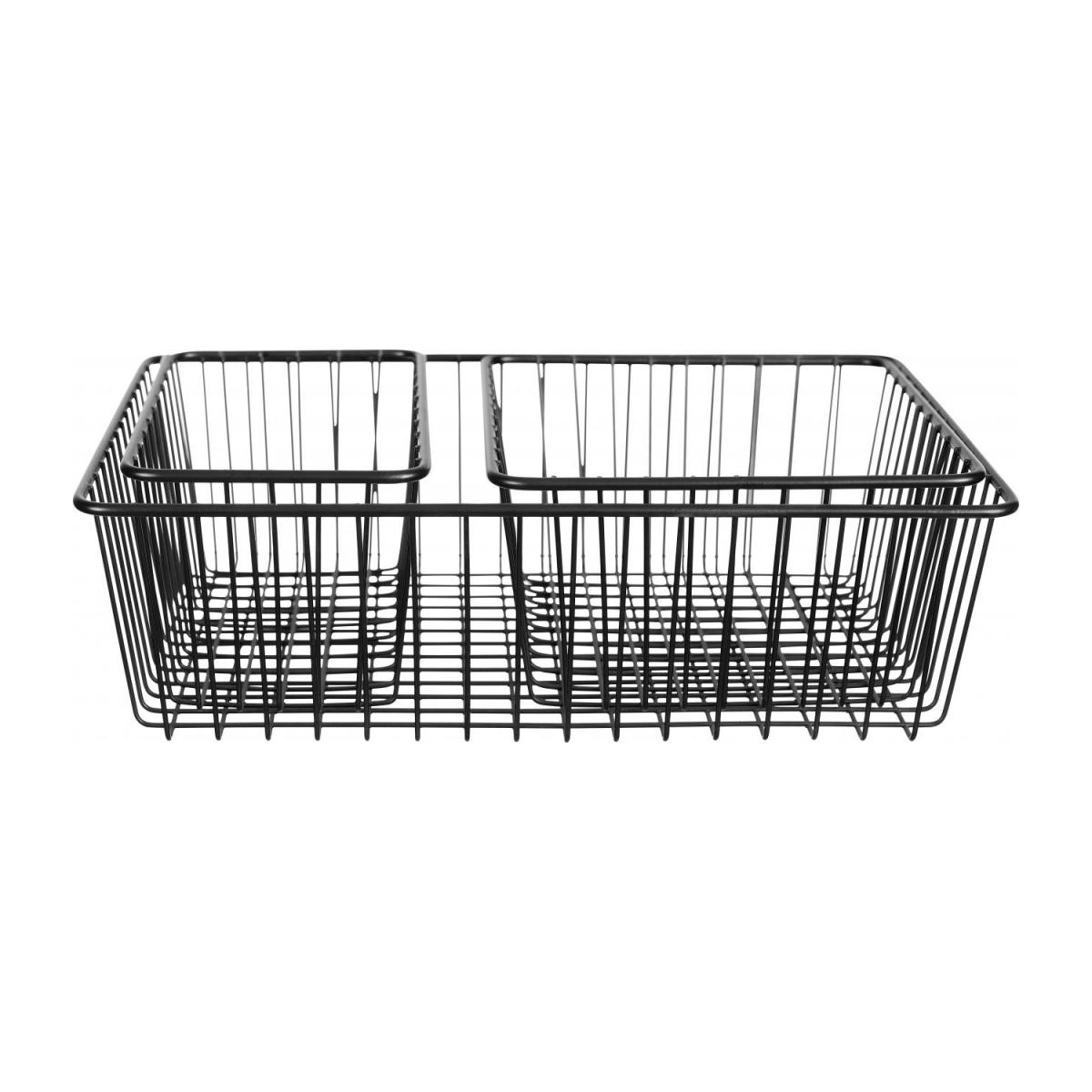 Metal Bathroom Basket Set of 3 n°1