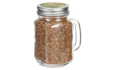 Mint Seeds in Glass Mug