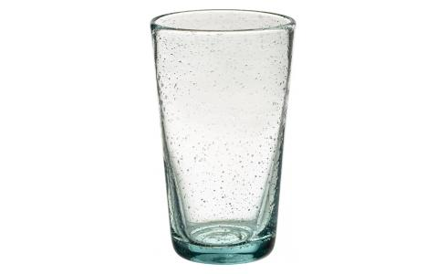 Mouthblown Recycled Glass High-Ball Tumbler
