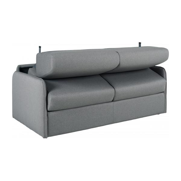 alix 3 sitzer schlafsofa aus stoff grau habitat. Black Bedroom Furniture Sets. Home Design Ideas