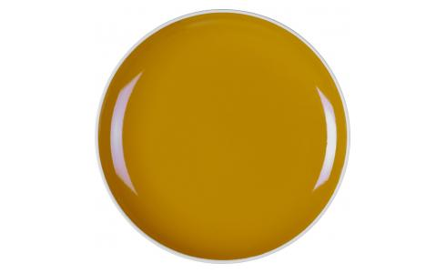 Stoneware Side Plate Yellow Mustard D21.5cm