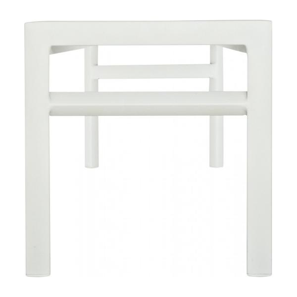 BLANCHE Benches White Metal - Habitat