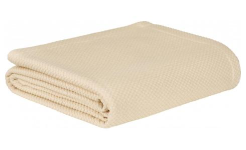 Egyptian Cotton Bedspread Natural 230x260cm