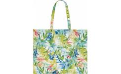 Sac de plage 55x45cm en coton multicolore Design by Floriane Jacques