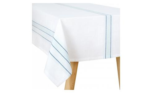 Celadon Patterned Tablecloth