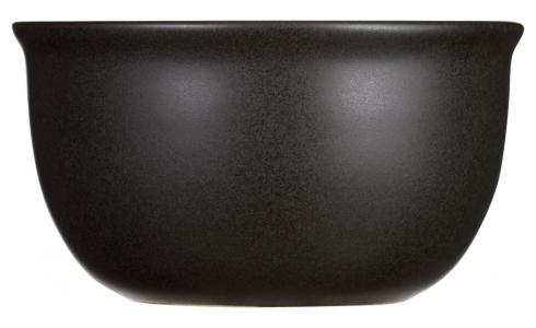 Stoneware Bowl Matt Black D12.5cm