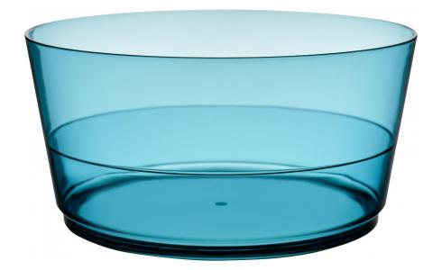 Acrylic Salad Bowl Blue