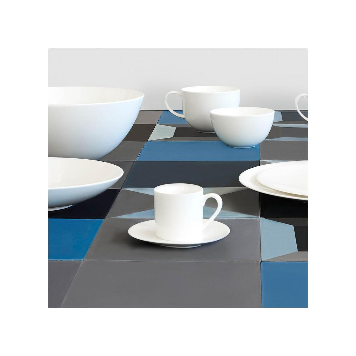 Coffee cup and saucer n°8