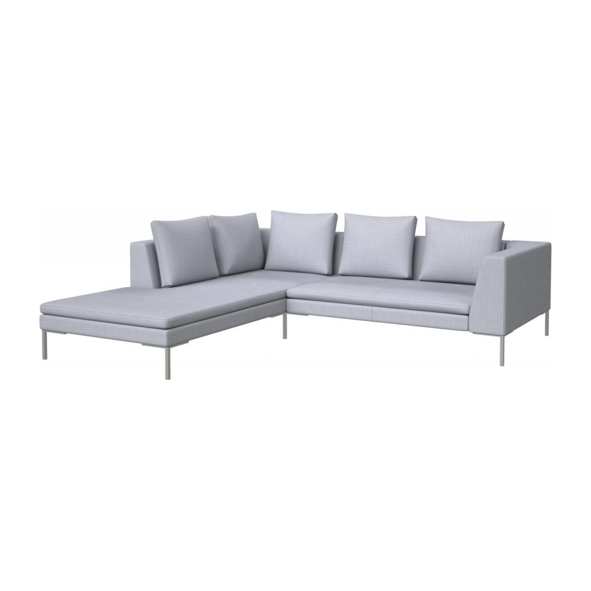 Montino - 2 seater sofa with chaise longue on the left in Fasoli ...