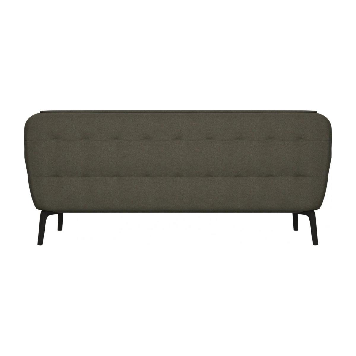 2 seater sofa in Lecce fabric, muscat and dark feet n°3
