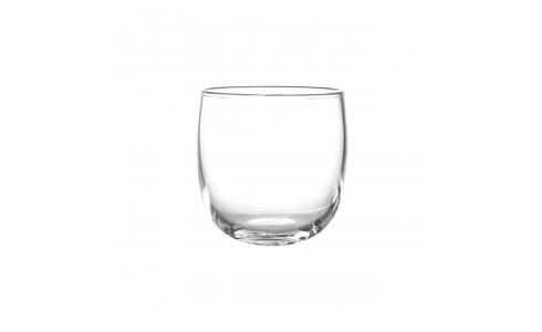 Cahe-pot 16cm en verre  transparent