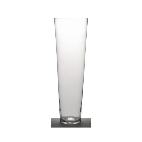 Sia Clear Glass Conical Vase 70cm L Habitat