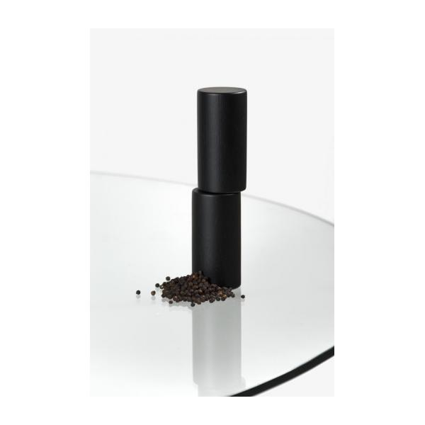 Salt & pepper mill made of oak, teinted - Design by Alvaro Goula n°7