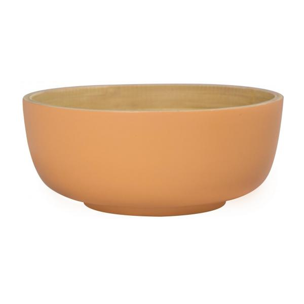 Bamboo Bowl Coral 12cm
