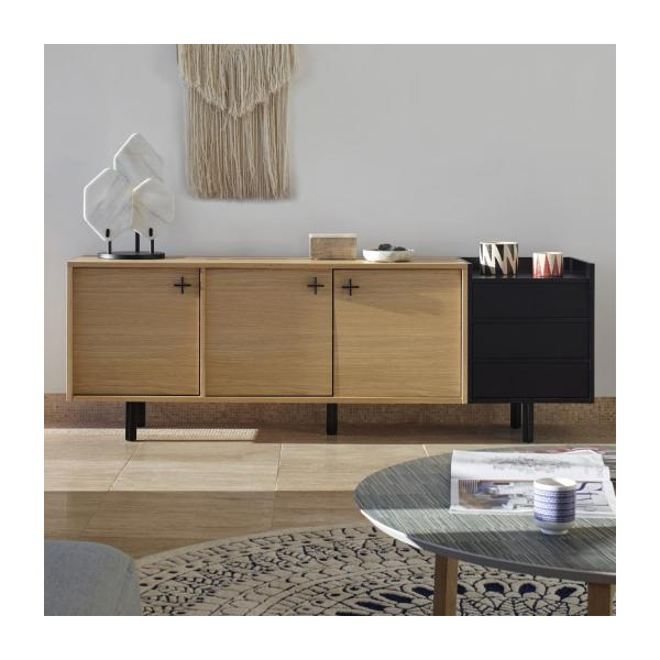 Sideboard made of oak n°9