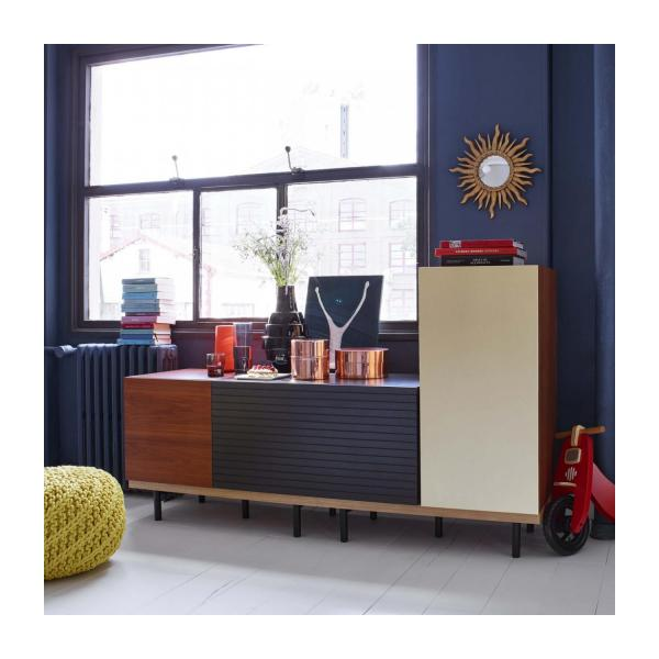 large modular slat box for storage n°6