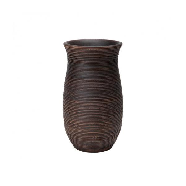 Sia Brown Terracotta Vase 30cm S Habitat