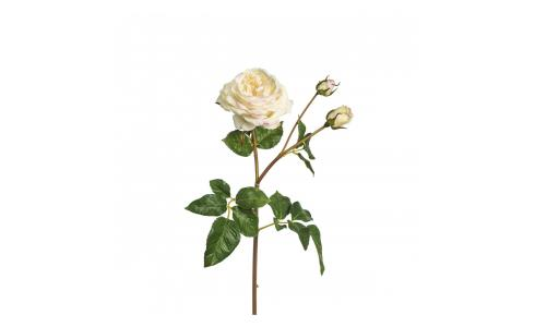 Rose artificielle 55cm rose pâle