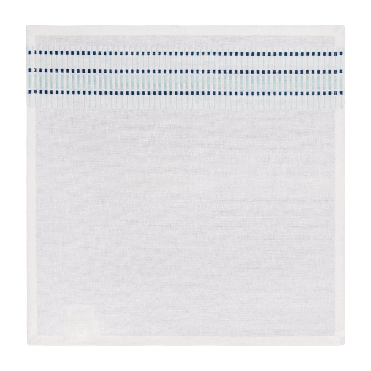 Set of 4 Celadon Patterned Napkins  n°1
