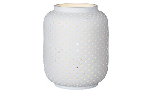 Porcelain Table Lamp White